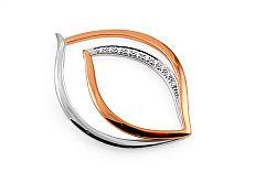 Zlatý prívesok s diamantmi 0.050 ct Farina DB0059P
