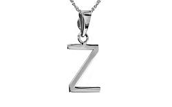 Zlatý prívesok s písmenkom Z white IZ6445A