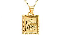 Zlatý prívesok znamenie Baran IZ7413