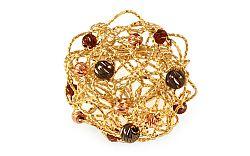 Zlatý prsteň Beads IZ8994PG