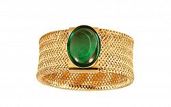 Zlatý prsteň Flexi Green IZ9414S