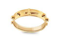 Zlatý prsteň ruženec IZ9958