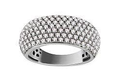Zlatý prsteň s briliantmi 1,210 ct KU390A