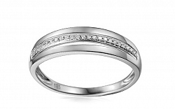 Zlatý prsteň s diamantmi Julita IZBR095AP
