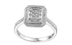 Zlatý prsteň s diamantmi Raphaela IZBR211A