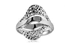 Zlatý prsteň s gravírom IZ10751