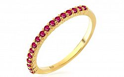 Zlatý prsteň s rubínmi Micha IZBR227R