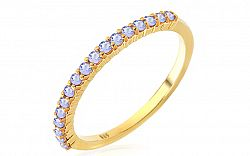 Zlatý prsteň s tanzanitmi Alix IZBR227T