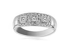 Zlatý zásnubný prsteň Barbara 2 CSRI750A