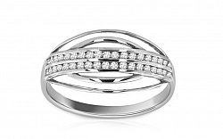 Zlatý zásnubný prsteň Ines 6 CSRI971A