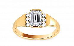 Zlaty zásnubný prsteň Isarel 26 CSRI93