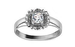 Zlatý zásnubný prsteň Isarel 27 CSRI715A