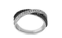 Zlatý zásnubný prsteň s 0,344 ct diamantmi Prima Vera KU0031