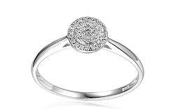 Zlatý zásnubný prsteň s diamantmi Joelle IZBR160A