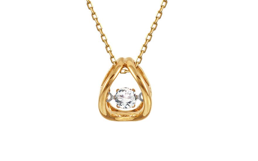 17f35720c Diamantový prívesok kolekcia Dancing Diamonds KU376P | ZlatáHorúčka.sk
