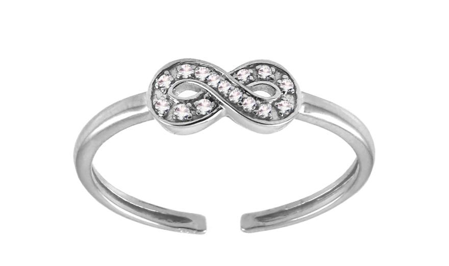Diamantový prsteň na nohu Be Happy 9DM0035  143127b85d6
