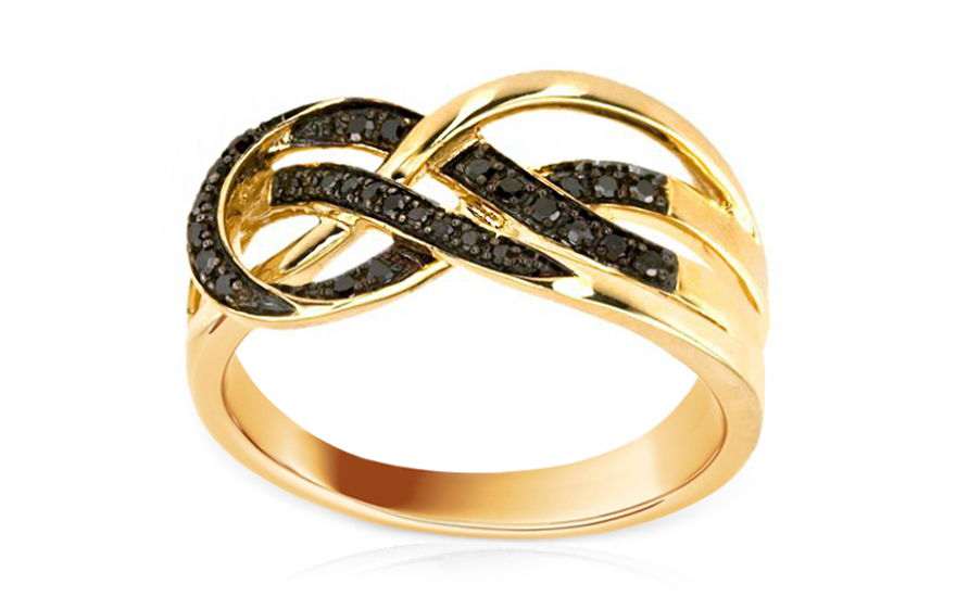 f555c3b19 Luxusný briliantový prsteň 0,180 ct Prima Vera KU0053 | ZlatáHorúčka.sk
