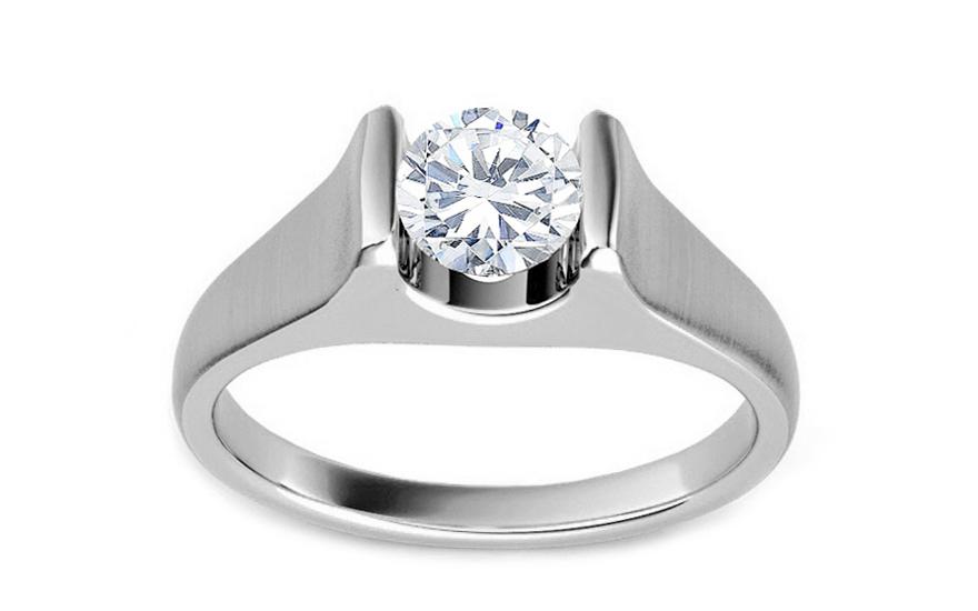 e98972fb9 Luxusný zásnubný prsteň s 0,500 ct diamantom Amore KU0056 ...
