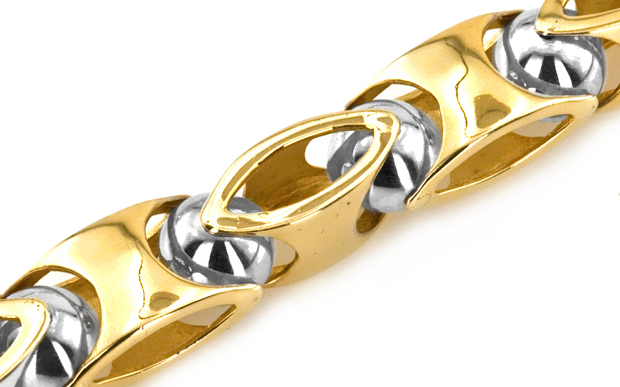 Masívna zlatá reťaz Medison Big IZ4350  93682689c60
