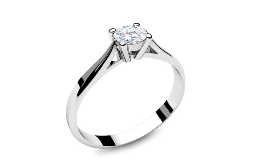 4ef092017 Zásnubný prsteň s 0,150 ct diamantom Power Of Love 2 LRBR018 ...