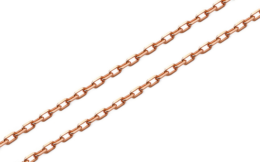 a33129ba2 Zlatá retiazka Anker 1 mm ružová IZ10218H | ZlatáHorúčka.sk
