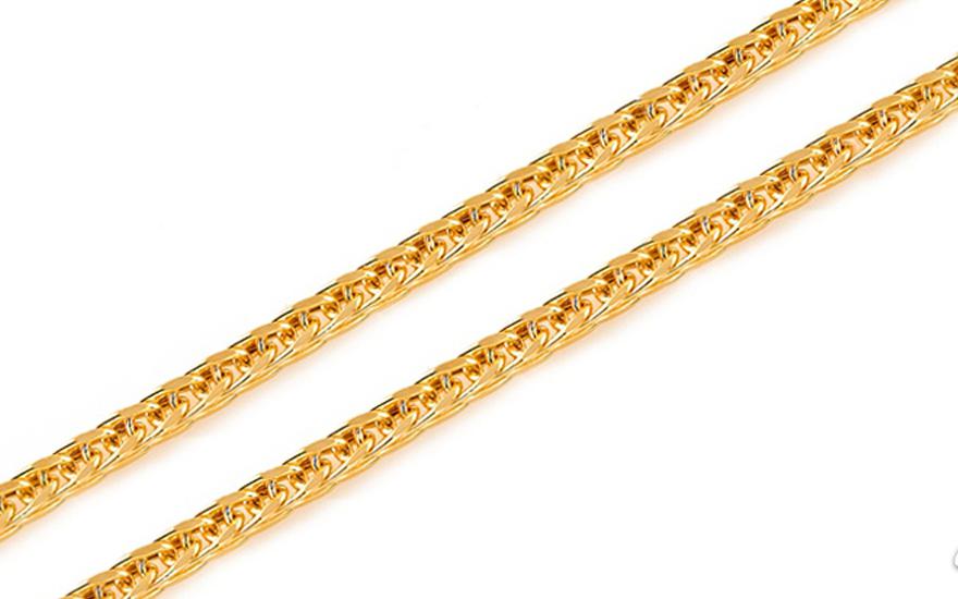 389a64421 Zlatá retiazka Fox - líščí chvost 2 mm IZ7809   ZlatáHorúčka.sk