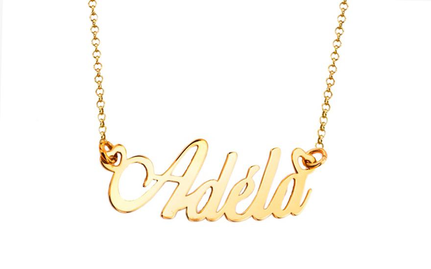 f18072761c Zlatá retiazka s menom Adela IZ8176