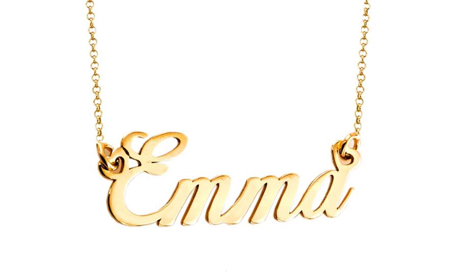 84b61dcbdd Zlatá retiazka s menom Emma IZ9091