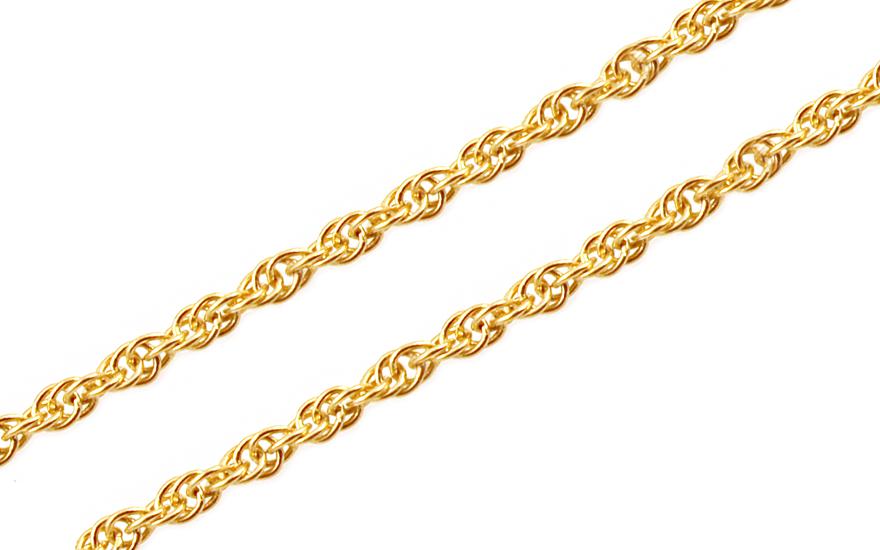 9b2a7c713 Zlatá retiazka Singapur 1,3 mm IZ10232 | ZlatáHorúčka.sk