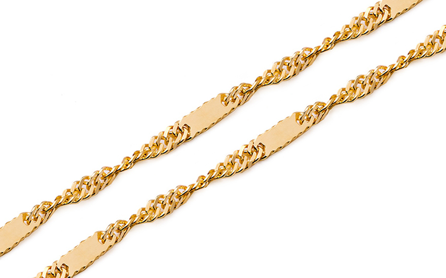 b67e7b848 Zlatá retiazka Singapur 1,5 mm IZ8528 | ZlatáHorúčka.sk