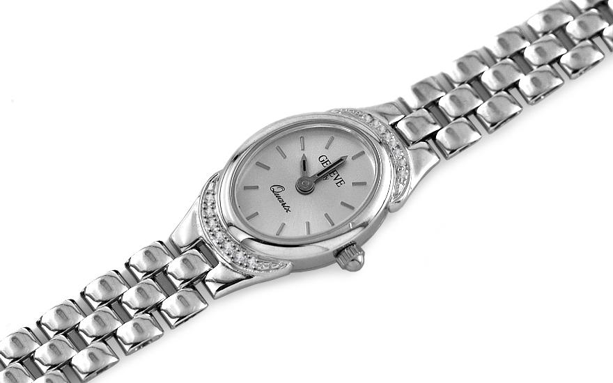 Zlaté dámske hodinky Treasure time white IZ7733  9508a775df2
