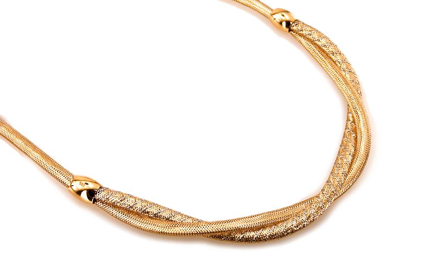 831f12b25 Zlatý dámsky náhrdelník kolekcia Flexi IZ6159 | ZlatáHorúčka.sk