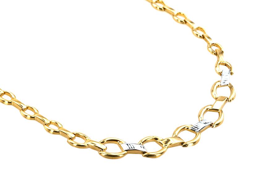 7aae38895 Zlatý dámsky náhrdelník SAMANTHA 13 IZ5021 | ZlatáHorúčka.sk