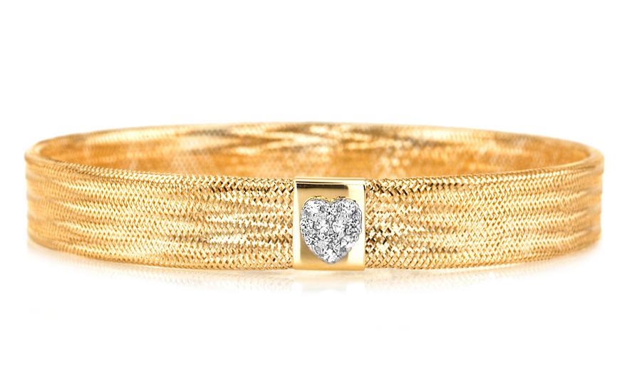 Zlatý dámsky náramok kolekcia Flexi IZ5422  ef302735352