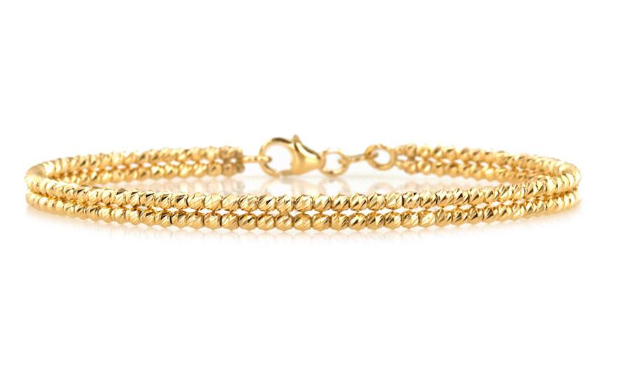 Zlatý dámsky náramok obručový yellow IZ9PA037  0f9b408c581
