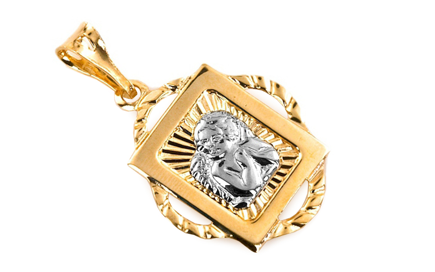 Zlatý prívesok Anjelik IZ6075  d37f8a633e0