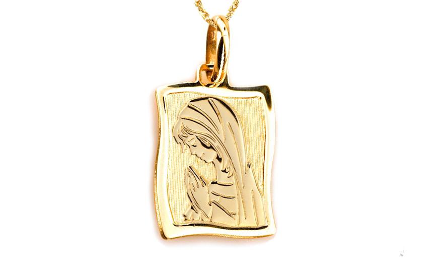 Zlatý prívesok PANNA MÁRIA IZ9PA122  9238921cc84