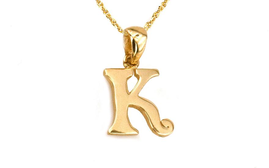 92b51b334 Zlatý prívesok písmeno K KOPE359 | ZlatáHorúčka.sk